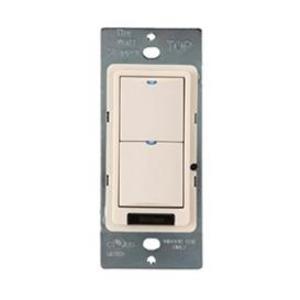 Wattstopper LMSW-102-W Digital Switch, 2-Button, Infrared, White
