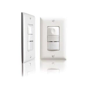 Wattstopper PW-100-LA PIR Occupancy Sensor/Switch, Light Almond