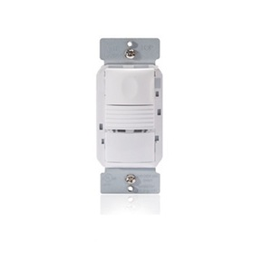 Wattstopper PW-301-W PIR Occupancy Sensor/Switch, White w/ Neutral