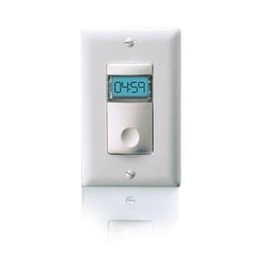 Wattstopper TS-400-24-W Low Voltage Digital Time Switch, White