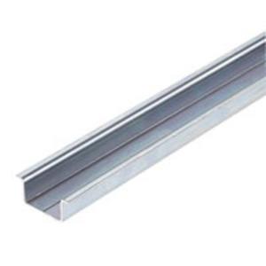 Weidmuller 0236400000 Mounting Rail, 35mm x 15mm x 2m, Steel, Zinc Plated