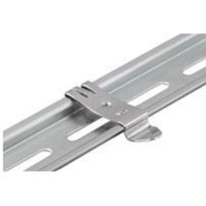 Weidmuller 0687900000 Terminal Block Mounting Foot, Steel, Bright Finish