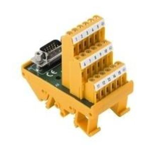Weidmuller 1428110000 Terminal Block, Interface, RSSD, 44 Plug, SUB-D, Screw Connection