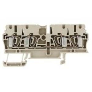 Weidmuller 1608570000 Terminal Block, Feed Through, Cross Connect, Z-Series, 2.5mm
