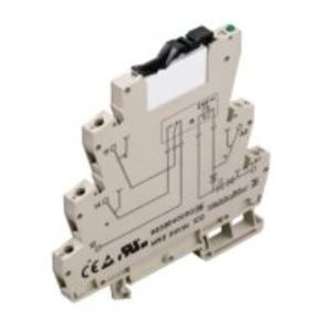 Weidmuller 8533640000 Relay Assembly, 1P, 24VDC, 6A, Microseries, Screw Connection