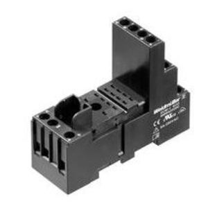 Weidmuller 8869420000 Relay, Socket, 14 Blade, 6A, 300VAC, DIN Rail Mount, Screw Clamp