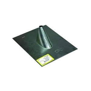 "Wellmade Products 129006 Roof Flashing, 1"", Steel"