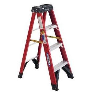 Werner Ladder 6304 4' Step Ladder, 375 lbs