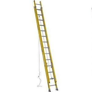 Werner Ladder 7128-2 28' Round Rung Extension Ladder, Type IAA, 375 lbs