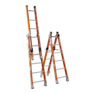Werner Ladder 7806 Fiberglass Combination Step/extension Ladders