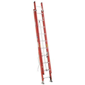 Werner Ladder D6224-2 24' D-Rung Extension Ladder, 300 lbs