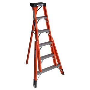 Werner Ladder FTP6208 8' Tripod Step Ladder, Type IA, 300 lbs