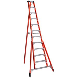 Werner Ladder FTP6212 12' Tripod Step Ladder, Type IA, 300 lbs
