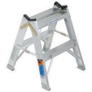 Werner Ladder T372 Aluminum Twin Step Stool