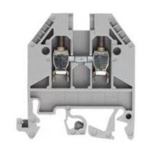 Wieland 57.503.0055.0 Terminal Block, Feed Through, 2.5mm, Gray, 2 Conductor
