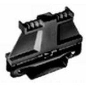 Wieland Z5.522.8553.0 Terminal Block, End Anchor, 8mm, Metal, Black, Screwable, TS35