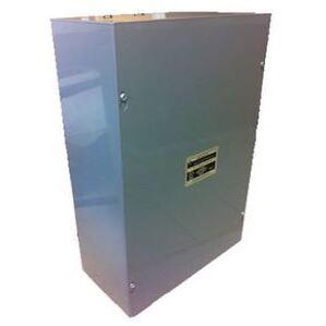 """Wire Guard Systems 484812NKE Enclosure, NEMA 1, Screw Cover, 48"""" x 48"""" x 12"""", Steel/Gray"""