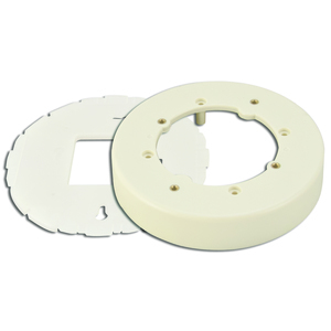 Wiremold 2337A Round Extension Box, 400/800/2300 Series Raceway, Ivory