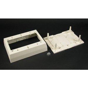 Wiremold 2348-3-WH 2300 Raceway Deep Device Box