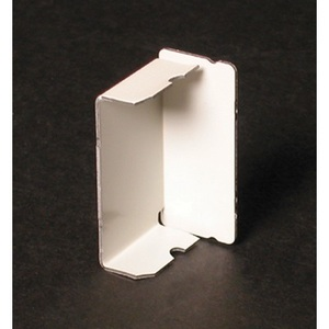 Wiremold 2410B-WH 2400 Raceway Entrance Blank End Fitting