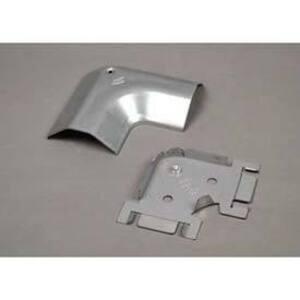 Wiremold 2611 Flat Elbow, 90°, Steel