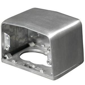 Wiremold 525HB Service Box Housing Base, Metallic
