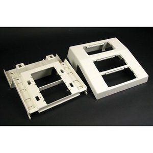 Wiremold 5450A3 3 Device Mounting Bracket, Ivory