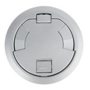 "Wiremold 6CTC2AL Surface Style Cover Assembly, 7-1/4"" Round, Aluminum"