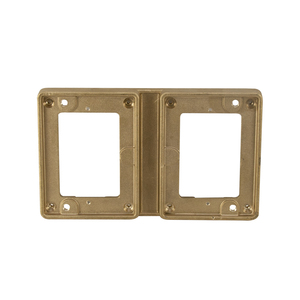 Wiremold 827T 2-Gang, Cover Plate Flange