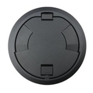 "Wiremold 8CTC2BK Surface Style Cover Assembly, Diameter: 8"", Black"