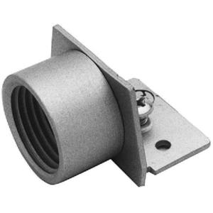 "Wiremold AL2010A Hub Adapter End Fitting, 1/2"", AL Series, Aluminum"