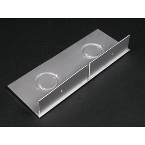 "Wiremold ALA4810B2 Entrance End Fitting / ALA4800 Series, 1/2"" & 3/4"" KOs, Aluminum"