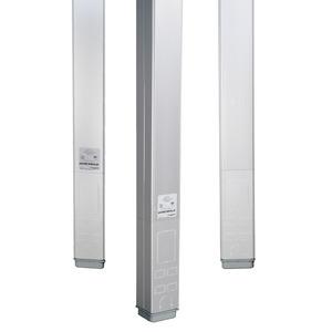 Wiremold AMTC-4 Tele-Power Series Aluminum Power/Data Blank Pole
