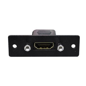 Wiremold AV3000BK HDMI Female to Female Barrel, Wiremold Audio/Video Interface Plates
