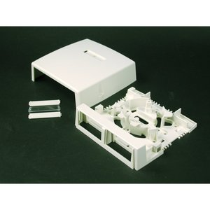 Wiremold CM-MMB-292 2 Insert 2800 Series Box Ivory