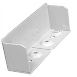 Wiremold G4010B Blank End Fitting / 4000 Series, Steel, Gray