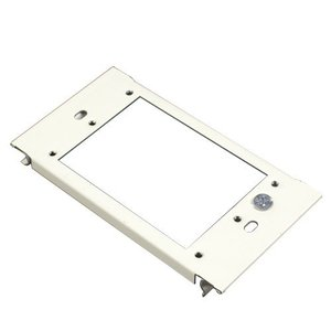 Wiremold G6007C-1 Vertical Mount Device Plate, 1-Gang, 6000 Series Raceway, Gray