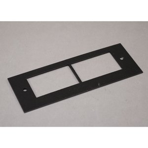 Wiremold OFR47-2A OFR Series Communication Device Plate, Steel