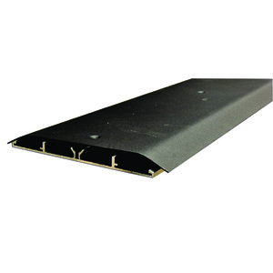 "Wiremold OFRBC-8 Overfloor Raceway Base & Cover, Steel, 6-7/8"" x 1/2"" x 8'"