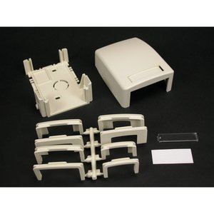 Wiremold PDB1CMFW NM DATA BOX FOR ONE CM MODULE PDB