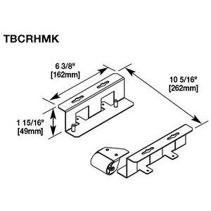 Wiremold TBCRHMK HORIZONTAL MOUNTING KIT