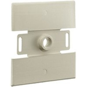 Wiremold V2051H Raceway Flush Plate Adaptor, 2000 Series, Steel, Ivory