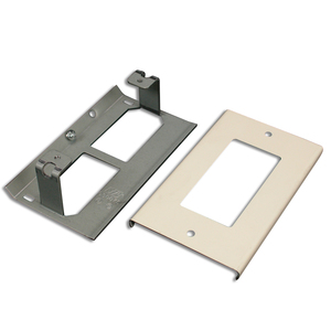 Wiremold V3048R Decorator Receptacle Cover, 3000 Series Raceway, Ivory