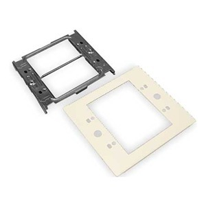 Wiremold V4047C-2 2-Gang Device Plate, 4000 Series Raceway, Ivory