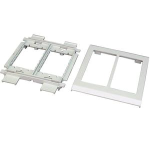 Wiremold V4050 Device Mounting Bracket, 2-Gang, 4000 Series, Ivory