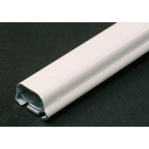 "Wiremold V500-5 Raceway, 1-Piece, Steel, Ivory, 3/4"" x 17/32"" x 5', 500 Series"