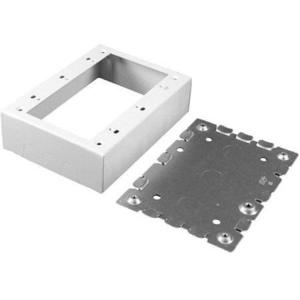 Wiremold V5748-5 Device Box, 5-Gang, 500/700 Series Raceway, Ivory