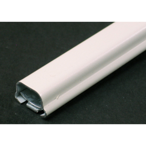 "Wiremold V700-5 Raceway, 1-Piece, Steel, Ivory, 3/4"" x 21/32"" x 5', 700 Series"