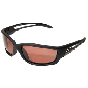 Wolf Peak TSK215 Kazbek Protective Eyewear, Polarized, Matte Black Frame/Copper Lens