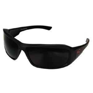 Wolf Peak TXB236 Brazeau Protective Eyewear, Polarized, Matte Black Frame/Smoke Lens